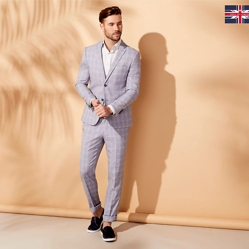 Soul Of London Light Blue Suit