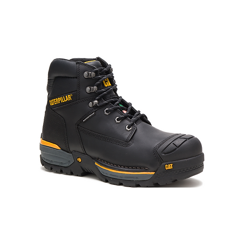 "CAT Excavator LT 6"" Waterproof Composite Toe CSA Work Boot"