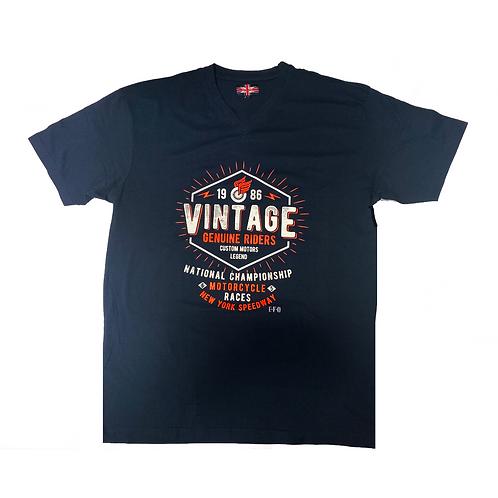 Vintage Genuine Riders T-Shirt  B/T