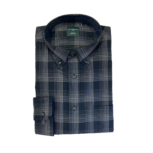 Leo Chevalier Plaid Print