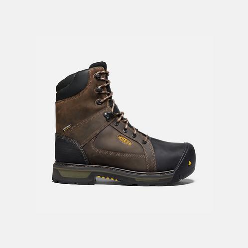 """Keen Mens's CSA Oakland 8"""" 400G Insulated Waterproof Boot (CARBON FIBER TOE"""