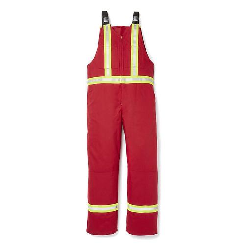Fire Retardant Bibs w/Stripes CSA