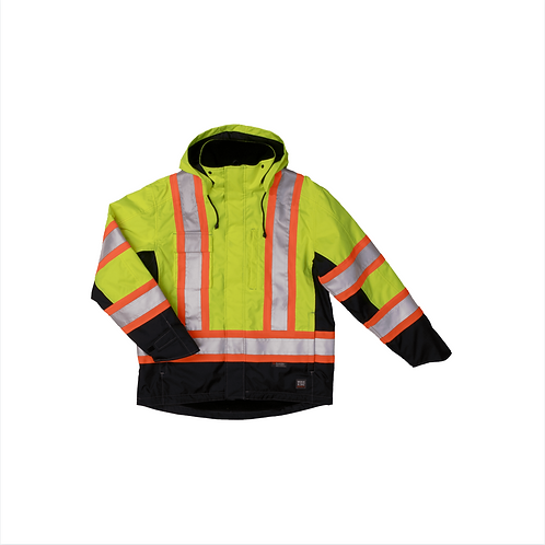 Fleece Lined Safety Jacket