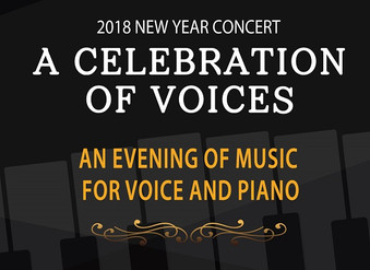 2018 New Year Concert  A Celebration of Voices