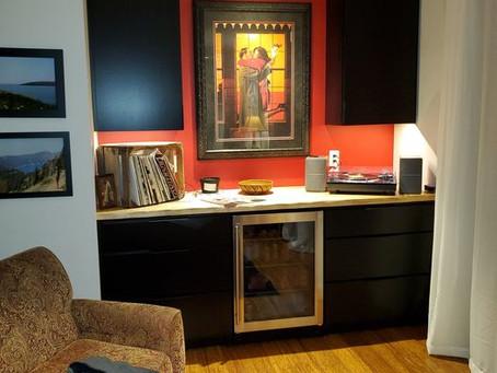 A new Winebar for the Livingroom