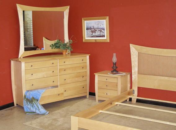 Birch Deco Bedroom