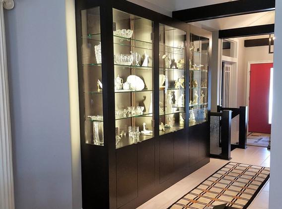 Maple China Cabinet