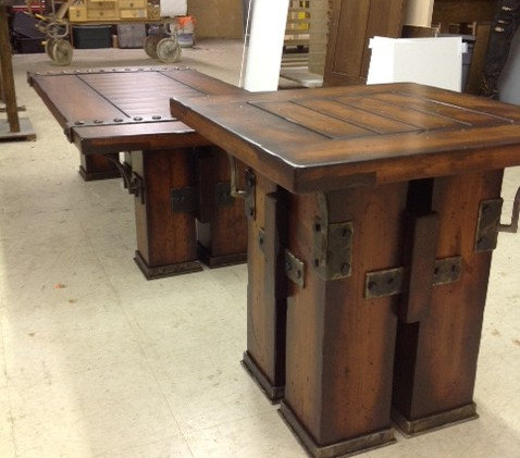 Wood with Metal Accent Coffee Table.jpg