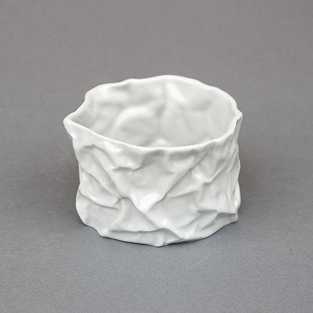 Elodie_tanguy_Porcelaine_Froissés_Pot (1