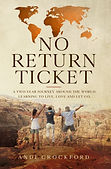 No Return Ticket Cover paper back croppe