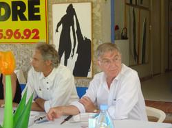 avec C. Passuello et Marcel Alocco