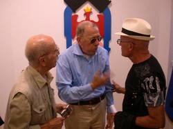 avec Sacha Sosno et Jean Ferrero