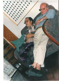 avec Raymond Hains