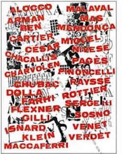 L'affiche de l'Ecole de Nice 1997
