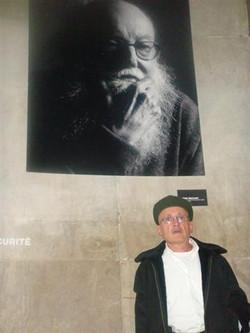Avec Pierre Restany Critique d'art