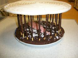 Le gâteau Cage à Mouche