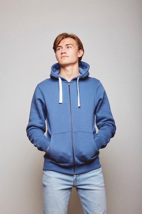 Balanced Blue Hoodzip