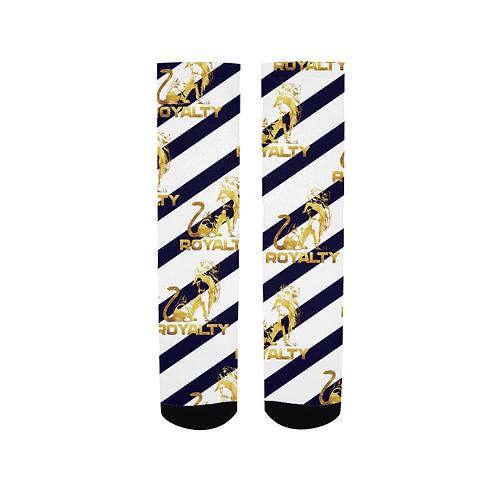 Royalty Navy Socks