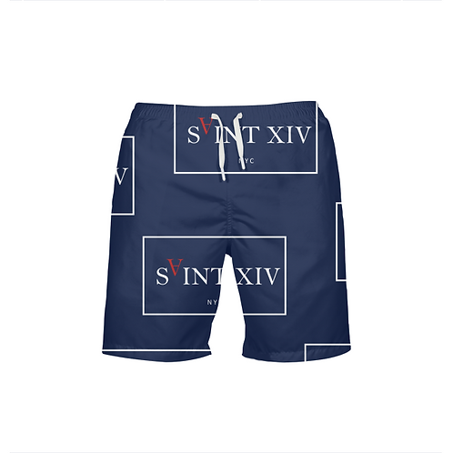 SAINT XIV  Men's Beach Shorts