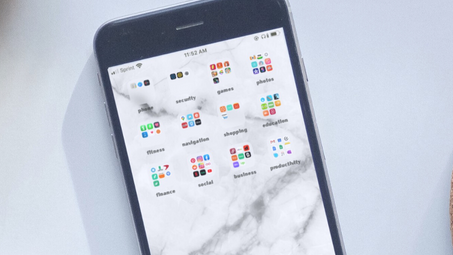 How I Organize My iPhone Apps