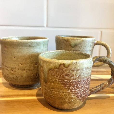 Salt-fired Cups