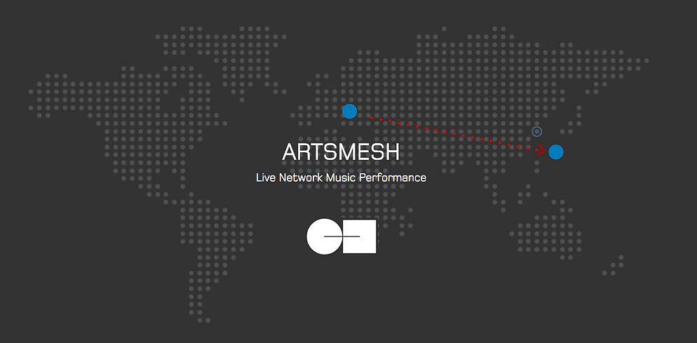 Artsmesh - Live P2P Network for Virtual Music Performance