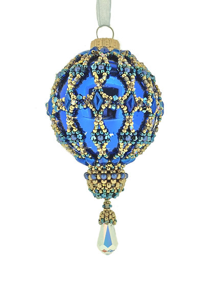 Royal Blanche Bauble Pattern