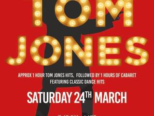 Sat 24 March - Tom Jones Tribute