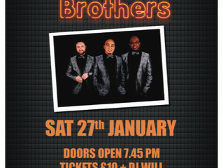Motown Brothers - 27 Jan