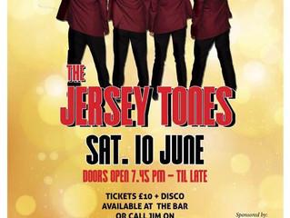 Jersey Tones, Sat 10 June
