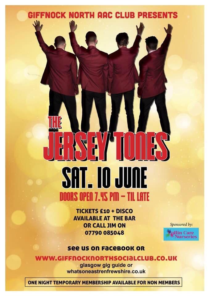 The Jersey Tones, Giffnock North AAC