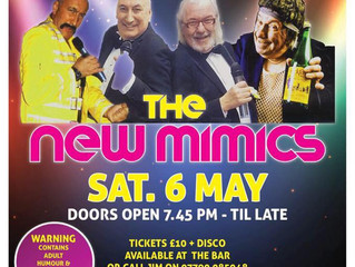 The New Mimics - Sat 6 May