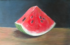 Watermelon With Ants