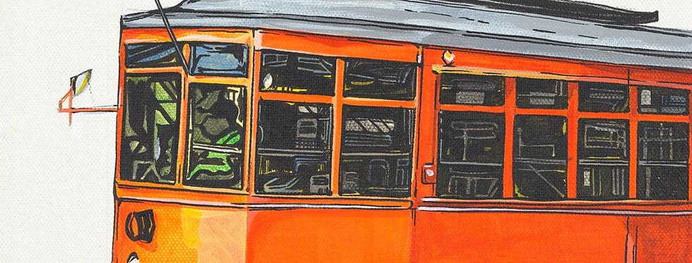 Orange Trolley