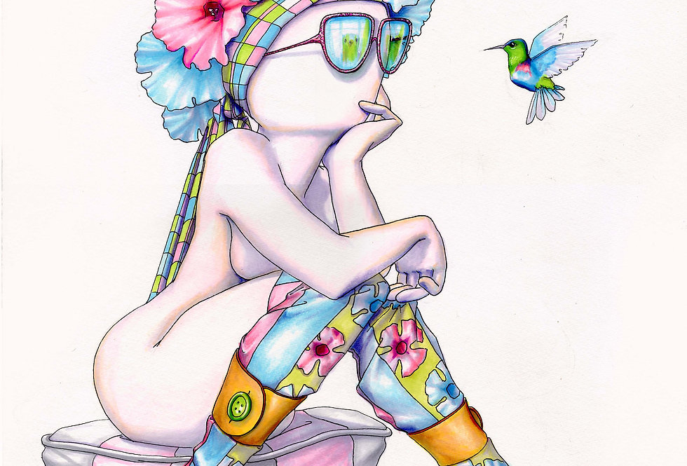 Hellow Beautiful (Giclee prints only)