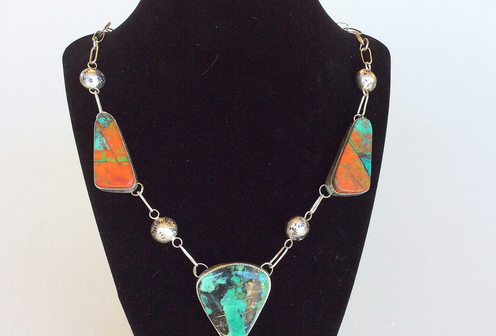 Handcut Jade Necklace
