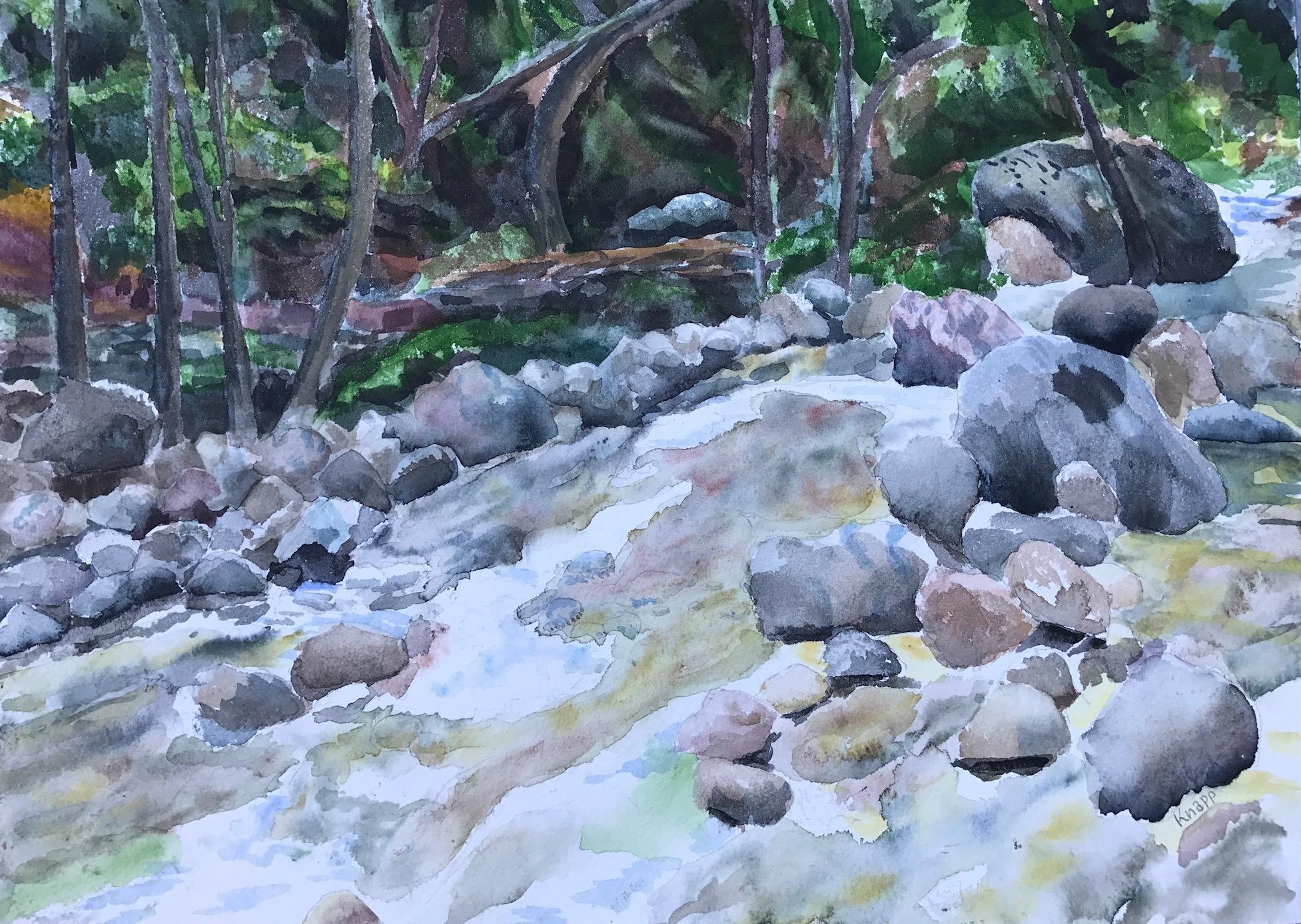 Tassajara creek