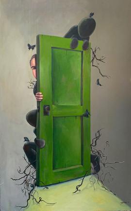 Big Fear. Little Door