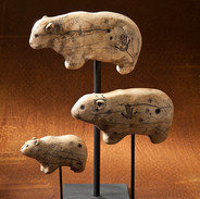 cave-bear-sculptures-handmade-with-faux-