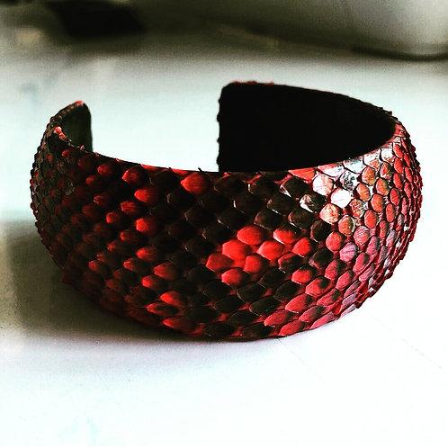 Chateau de Laquant Genuine Python Bracelet