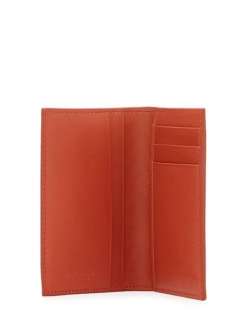 Bottega Veneta  Fold-Over Leather Card Case