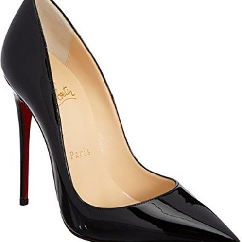 Christian Louboutin Black So Kate Heels Point-Toe