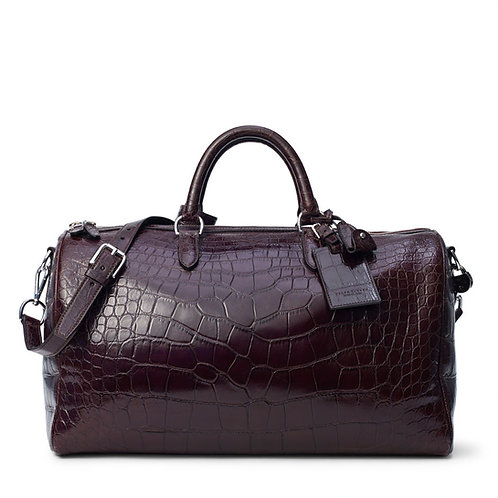 Ralph Lauren Boston Alligator Bag
