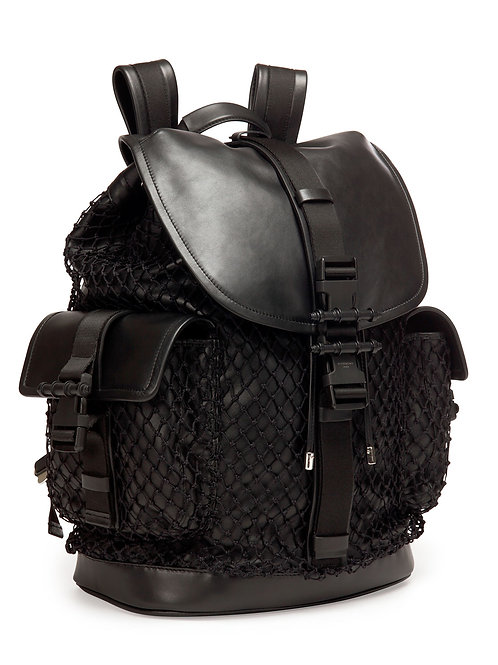 Givenchy  Obsedia Netted Leather Backpack