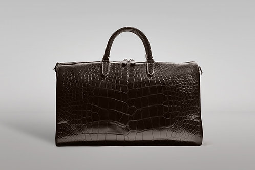 """Chateau de Laquant """"PATRON"""" Crocodile Duffel Bag"""