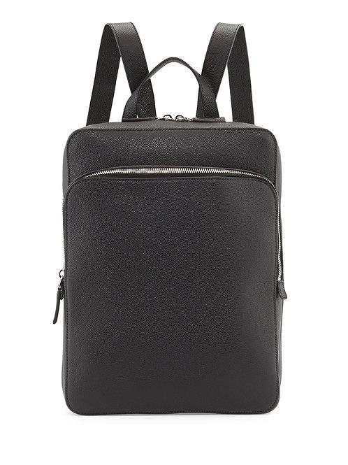 Prada  Calfskin Slim Backpack with Zip Closures