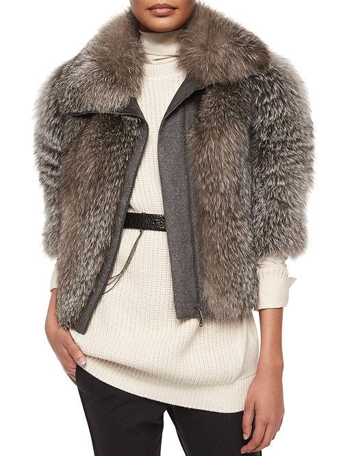 Brunello Cucinelli  Fox Jacket