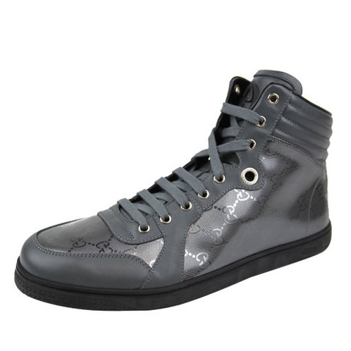 Gucci Mens Platinum Coda GG Imprime High-top