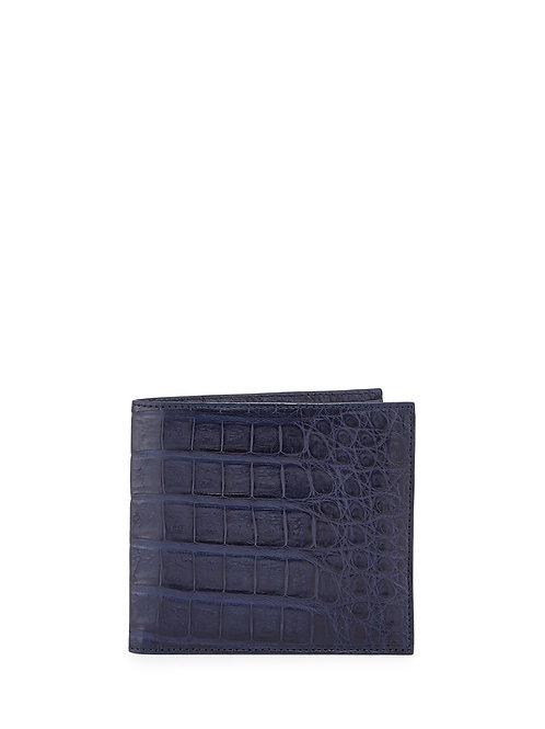 Santiago Gonzalez Crocodile Bi-Fold Wallet