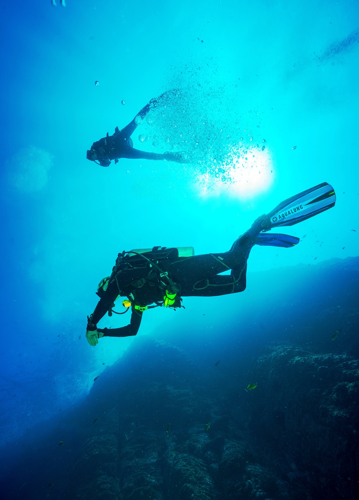 diving on turks and caicos
